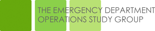 The Emergency Department Operations Study Group